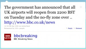 BBC Breaking Twitter Web Copywriter Blog Article