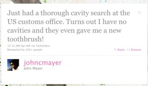 John Mayer Twitter Web Copywriter Blog Article