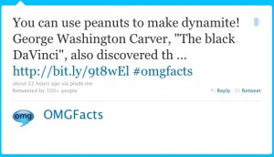 OMGFacts 1 - Twitter Web copywriter Blog Article