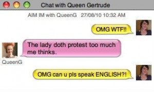 iChat with Queen Gertrude 1